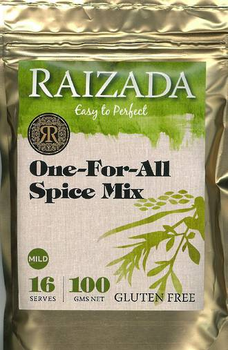 Raizada One for all Indian Spice Mix -  Mild