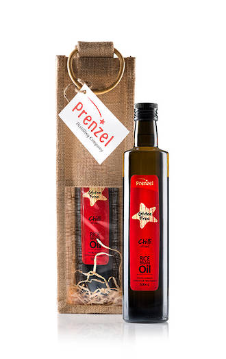 Gift Wrapped Rice Bran Oils