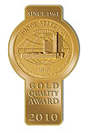 Monde Selection Gold Quality Award 2010